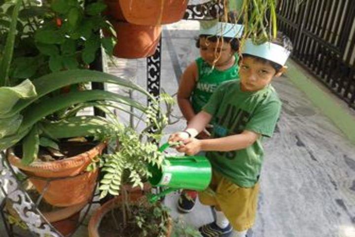 City Montessori School-Earth Day Celebrations