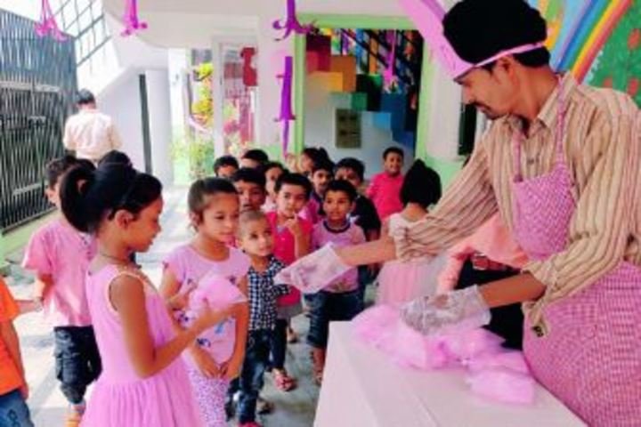 City Montessori School-Pink Day Celebrations