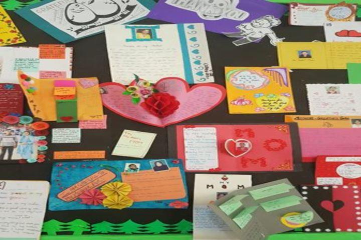 City Montessori School-Thank you Card Making