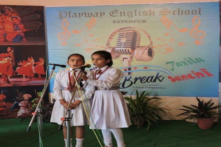 Playway English School-Singing