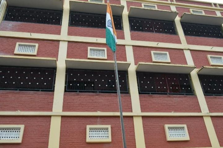 St Peters School-Flag Hoisting
