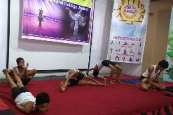Cathedral College-Yoga Day