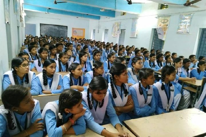 Govt Girls Higher Sec School Durg-Students