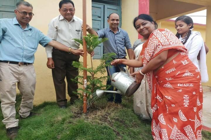 Govt Girls Higher Sec School Durg-World Environment Day