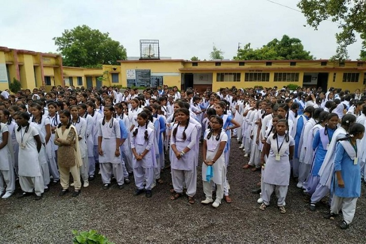 Govt Girls Higher Sec School-School assembly