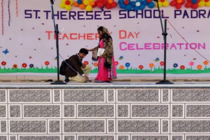 St Thereses School-Teachers Day