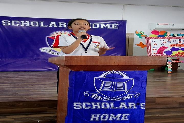 Scholars Home-Speech