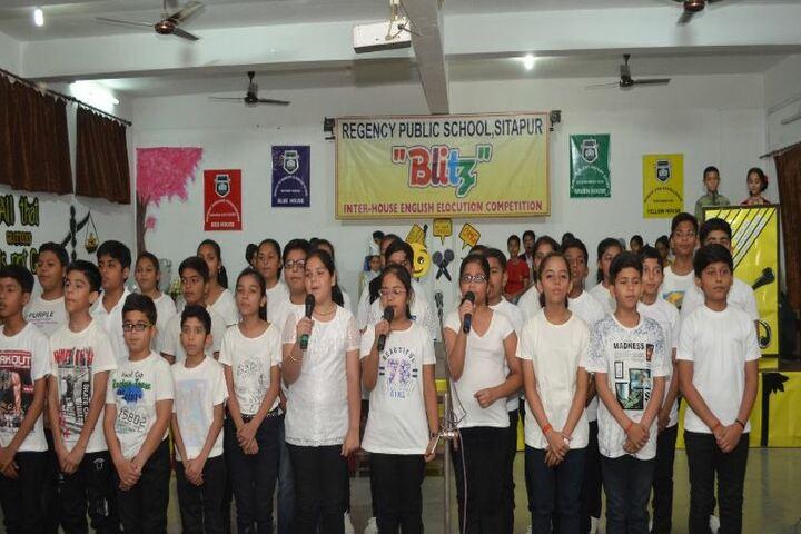 Regency Public School-Singing