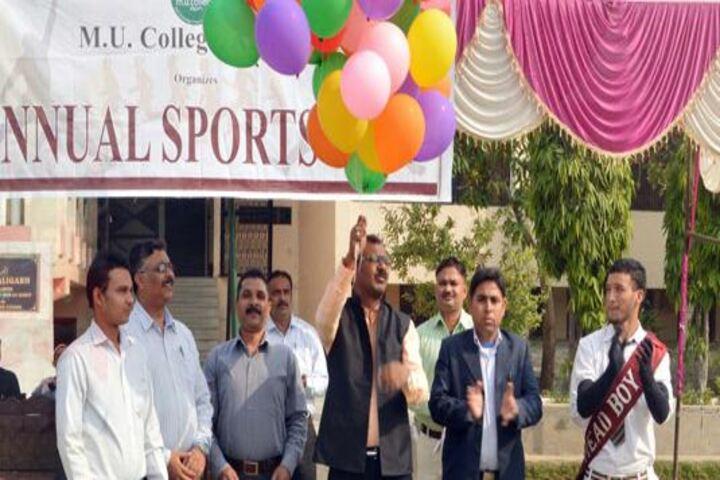 M U College-Annual Sports Day