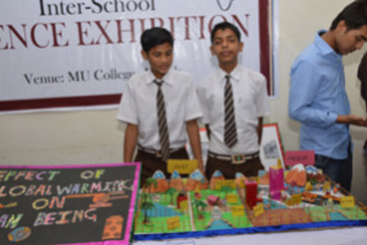M U College-Science Exhibition