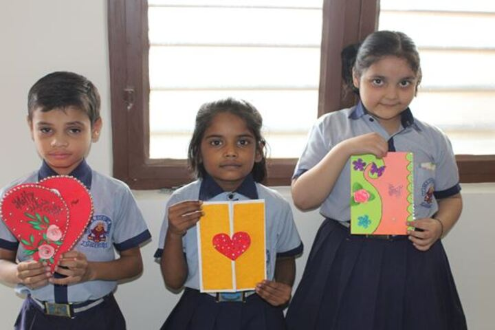 St Anns Convent School-Card Making Activity