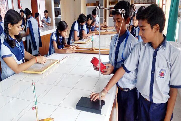 St Anns Convent School-Physics Lab