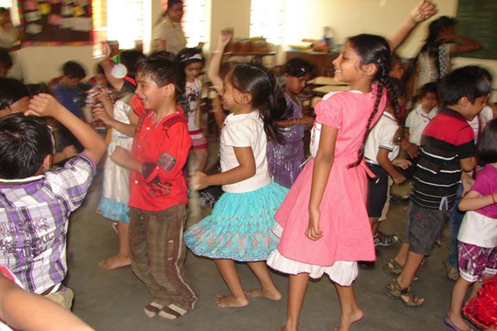 Nurture International School-Dance