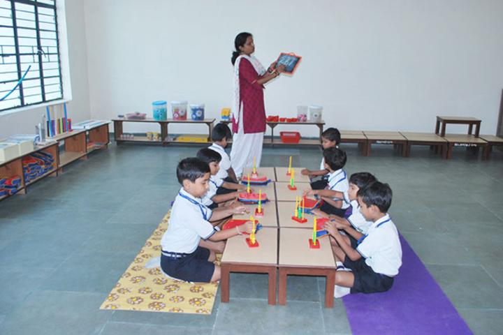 Nurture International School-Maths Lab