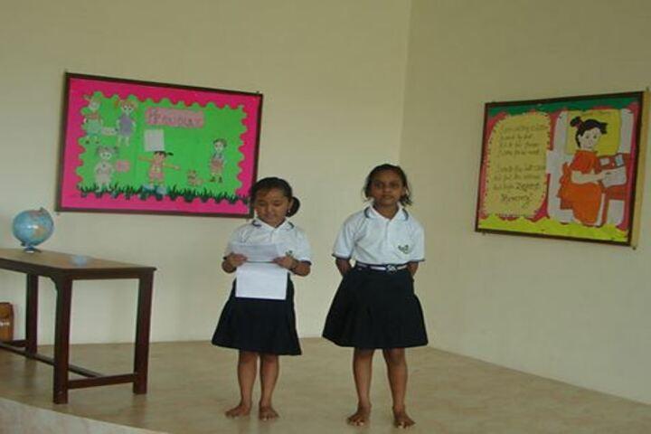 Nurture International School-Recitation