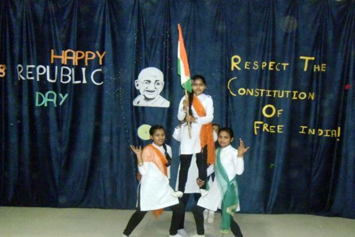Holy Angels School-Republic Day