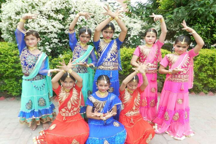 Christu Jyothi Convent Senior Secondary School-Dance