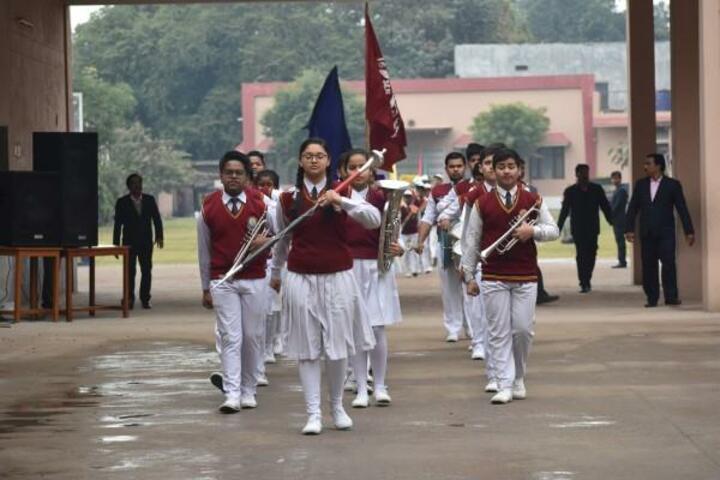 St JosephS High School-Band Troop