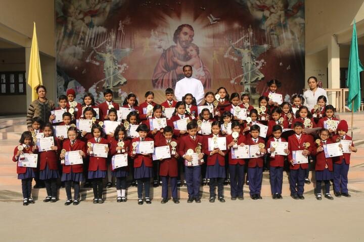 St JosephS High School-Prize Ceremony
