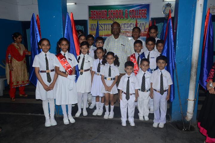 Benhur High School-Investiture Ceremony