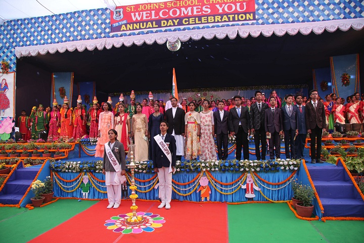 St Johns School-Annual Day Inaguration