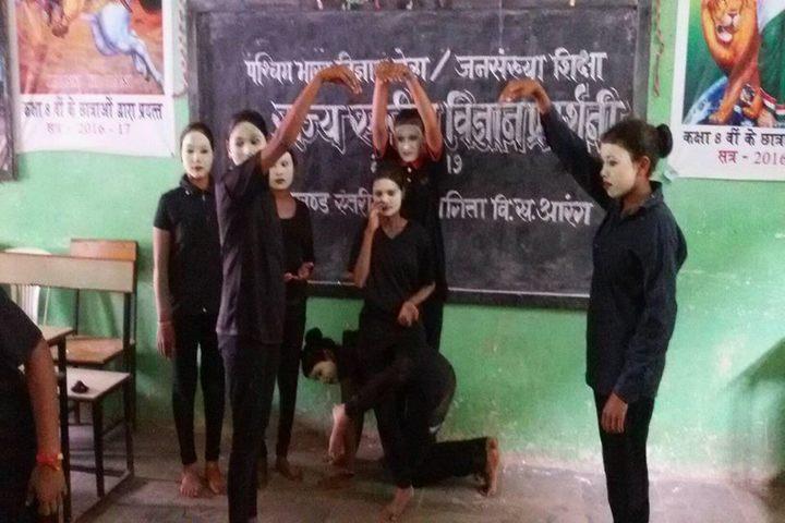 Govt Girls Higher Sec School Raipur-Mime