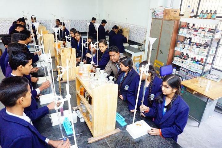 Radha Krishna Memorial Education Center-Chemistry Lab