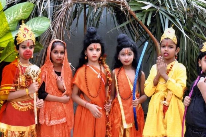 Radha Krishna Memorial Education Center-Festival Celebrations