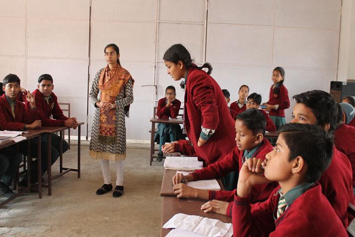 Bal Bharatiya English School-Classroom