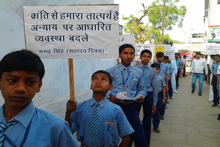 Bal Bharatiya English School-Rally