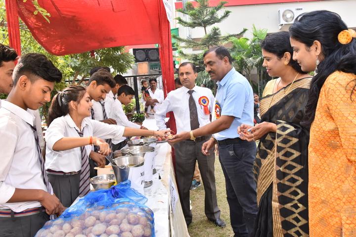 Sardar Patel Public School-Food Mela Activity