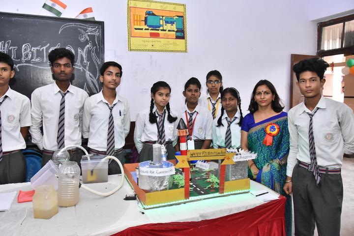 Sardar Patel Public School-Science Exhibition
