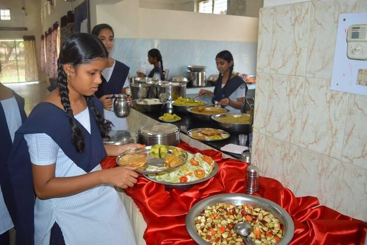 Jawahar Navodaya Vidyalaya-Food Making