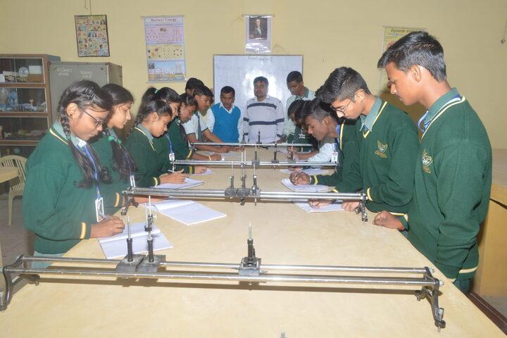 K C Convent Co Ed School-Physics Lab