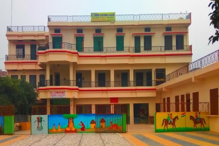 K C Convent Co Ed School-School Building