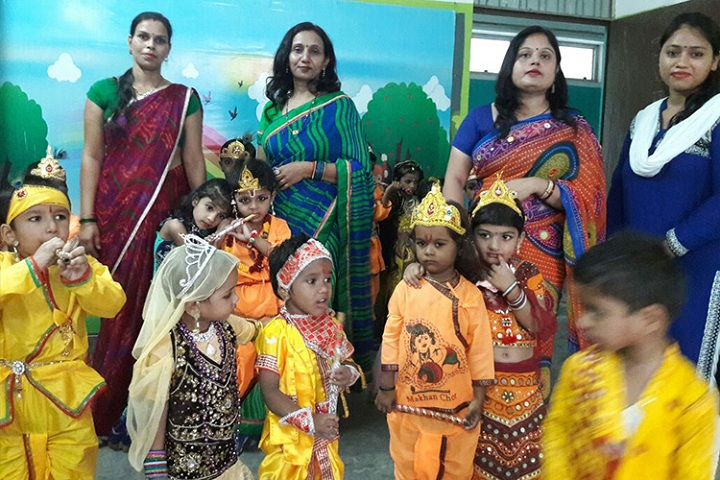 St XavierS Convent School-Janamastami Celebrations
