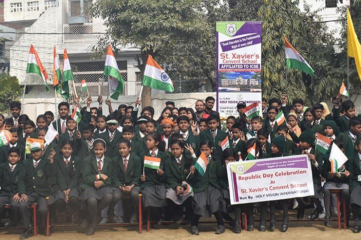 St XavierS Convent School-Republic Day