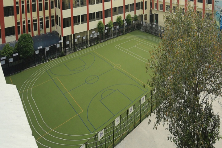 City Montessori School-Sports Playground