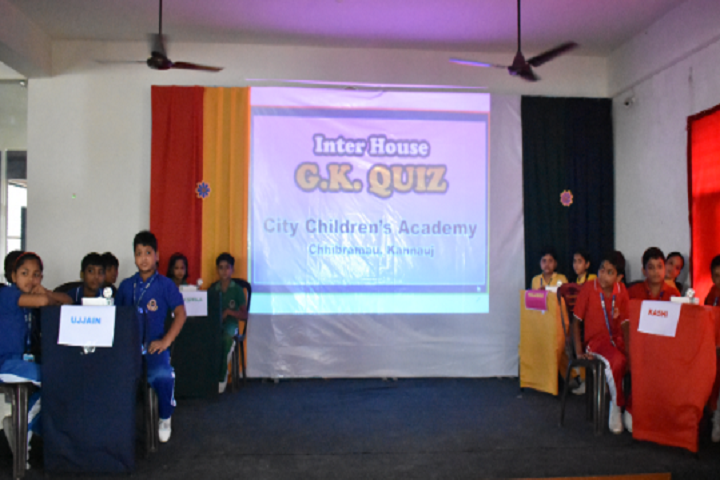 City Childrens Academy- Quiz Competition