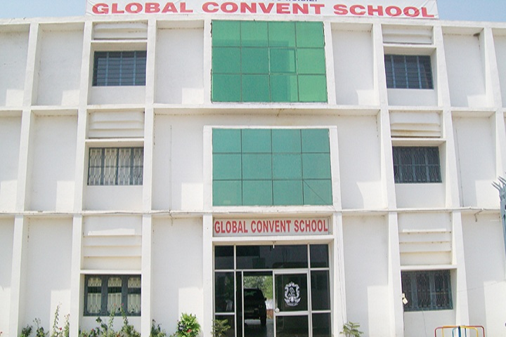 Global Convent School-Campus Front View