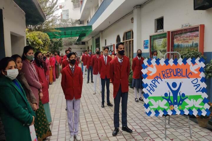Mother Teresa Higher Secondary School-Republic Day