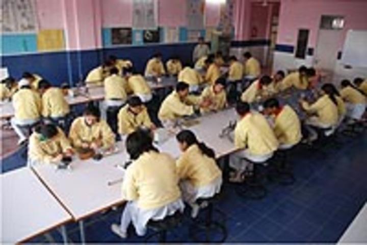 Karam Devi Memorial Academy World-Physics Lab
