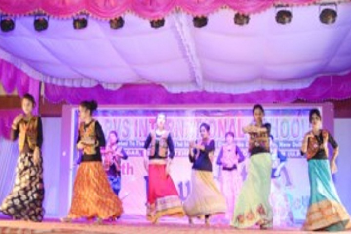 R V S International School-Events dance