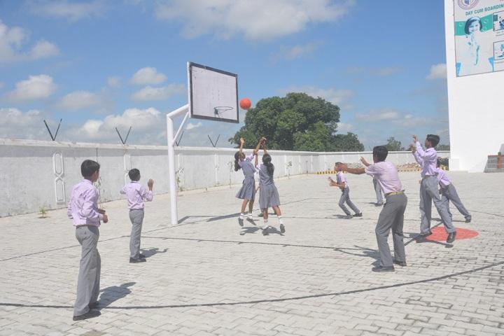 R V S International School-Sports basketball