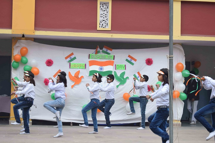 St Marys Convent School-Events republic day