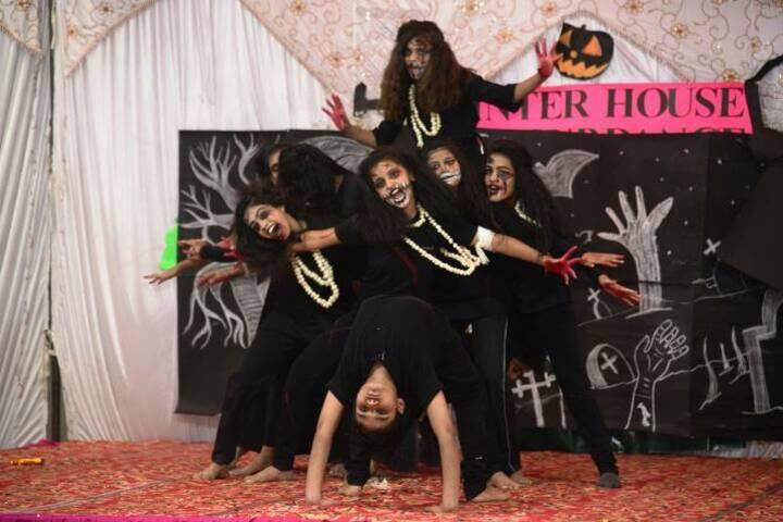 Sughar Singh Academy-Halloween Activity