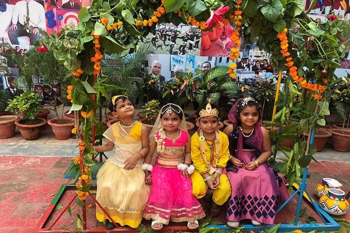 Creathics Public School-Janmastami Celebrations