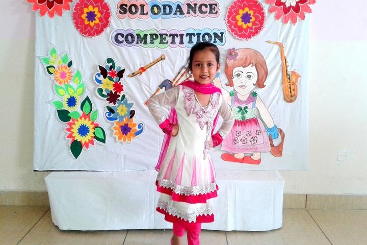 Creathics Public School-Solo Dance Competition