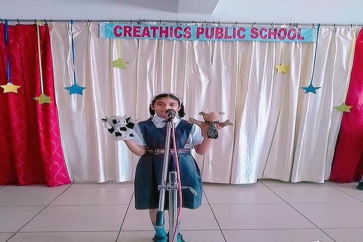 Creathics Public School-Story Telling