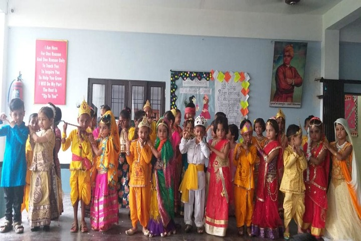 Lucknow Model Public Inter College-Janamastami Celebrations